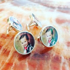Family Photo Solid Sterling Silver Cuff Links- Baby Photo Customized with Your Photo - Photo Cuff Links - Picture cufflinks Father of Bride Baby Photos, Family Photos, Gifts For Fiance, Sterling Silver Cufflinks, Expensive Jewelry, Engagement Gifts, Photo Jewelry, Digital Camera, At Least