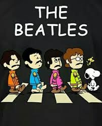 Image result for snoopy beatles