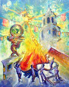Una ilustración del Poemario dedicado a Telde.2