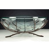 """Amazing site for decorating supplies! Very cheap!! (13"""" Clear Glass Bowl with Metal Branch Stand  $37)"""