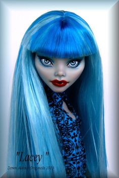 OOAK Monster High Repaint  ***~LACEY~***    by DAO