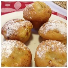 Melting Moments: Apple and Custard Muffins