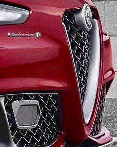 New edge Alfa Romeo Giulia Quadrifoglio (QV) Ferrari, Maserati, New Luxury Cars, Small Luxury Cars, Alfa Romeo Logo, Alfa Romeo Cars, Supercars, Alfa Giulia, Automobile