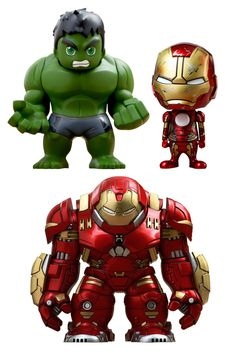 Avengers L'Ere d'Ultron serie 1.5 pack figurines Cosbaby Hot Toys