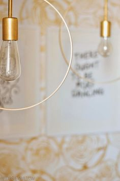 Poppytalk: Weekend Project | 10 Beautiful Lighting DIYs