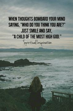I am a child of the most high God!