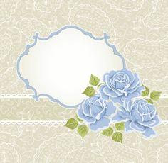 """Photo from album """"свадебные рамки"""" on Yandex. Flower Background Wallpaper, Flower Backgrounds, Paper Background, Colorful Wallpaper, Rose Frame, Flower Frame, Decoupage, Boarders And Frames, Printable Frames"""