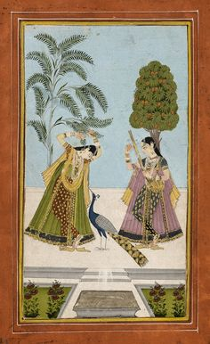 Sarang Ragini. Hyderabad, 1750-1800