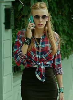 on screen fashion