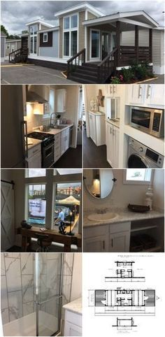 Incredible 399 Square Foot Tiny House for Sale in Addison, Alabama - If you're looking for a tiny house that will be stationary, you have to check out this next park model that's currently for sale. The home is 399 square foot and features floor-to-ceiling windows and two massive porches for entertaining and enjoyment.