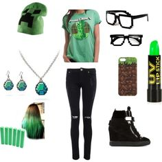 Minecraft Outfit from Polyvore