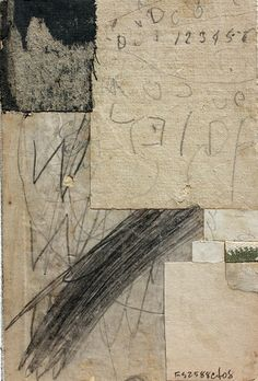 Cecil Touchon, Fusion Series #2588, 2008. Collage on Paper, 6x4 inches.