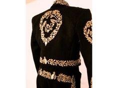 b59a33a495 traje charro color negro de gala en Guadalajara - Anuncios ... Traje Charro  De