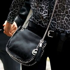 Leather bag by MK