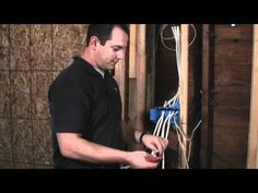 How to Run Non-Metallic Sheathed Electrical Cable - YouTube | shop ...