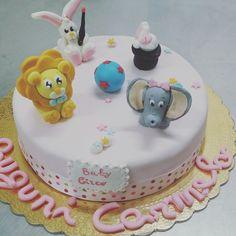 Baby circus cake
