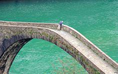 diabelski most w Toskanii