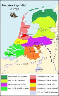 De Bataafse Republiek (1795–1801) (in de toenmalige spelling Bataafsche Republiek) was een republiek die het grootste gedeelte van het huidi...