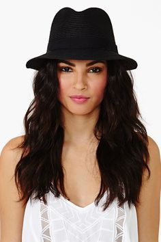 Panama Hat in Black