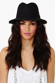 Panama Hat - Black