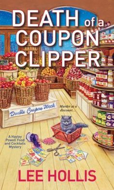 Death of a Coupon Clipper by Lee Hollis, http://www.amazon.com/dp/0758267398/ref=cm_sw_r_pi_dp_0gzgrb0H2CX8Q