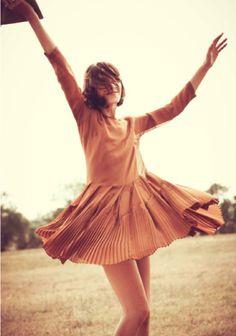 pretty orange alexa chung for madewell dress.