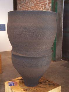 Huge ceramic vessel.