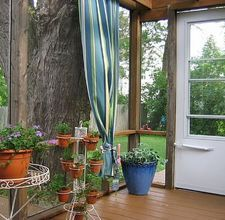 How to Make Outdoor Patio Curtains