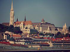 Vista della città alta, Budapest