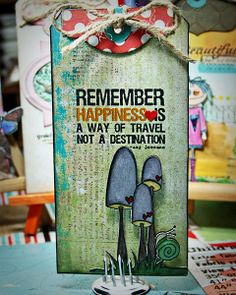 Remember Happiness . . . Day 4 of Unity Tag Challenge - Scrapbook.com