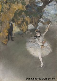 l'etoile- Edgar Degas