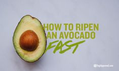Do you have an unripe avocado that you want to dig into right away? Waiting for an avocado to ripen is frustrating, but here's how to ripen an avocado fast. Ayurveda, Healthy Dinner Recipes, Mexican Food Recipes, How To Ripen Avocados, Avocado Health Benefits, Avocado Cream, Avocado Recipes, Good Fats, Store