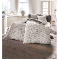 Bettwäsche, Sternchen, Wendemöglichkeit, Baumwolle 19,95€ Faibels