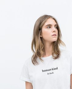 Feminist - Tumblr - Inspirational Shirt - The Future is Female Shirt - Quote- Hillary - Anti trump - HRC - Girls can do anything- Girl Power   ▲Human·Kind Tee▲  This world needs a little bit more humanity and kindness, particularly at this very moment.    (The model is wearing a unisex small size)   * Please be sure to REVIEW THE SIZE CHART before purchase as we do not accept exchanges for sizing issues.  * Available in both Unisex Tee and American Apparel® Womens Fitted T-shirts…
