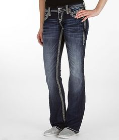 Rock Revival Liz Easy Boot Stretch Jean...this jean makes your booty look great