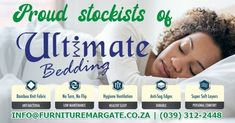 Are you tired of tossing and turning while trying to sleep? Sounds like you are due for a new bed!  As official retails of the Ultimate Bedding brand, we can help you with a new bed that will have you back in dreamland in no time!  For price and availability info@furnituremargate.co.za | More info on our website, link in bio | (039) 312-2448 / Whatsapp (064) 991-5148  #CozyHome #Decor #Style #Sophisticated #LuxuryLife #LuxuryFurniture #Technology #Cooking #NothingBeatsHome #HomeStyling #KZNSouth Sleep Sounds, Soft Layers, Trying To Sleep, Healthy Sleep, New Beds, Website Link, Luxury Life, Cozy House, Luxury Furniture