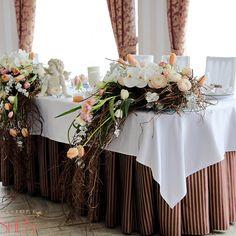Свадебный декор «Композиция» - от салона «LoraShen – цветочный кутюрье»