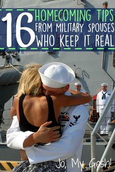 So much wisdom and knowledge in this group of milspouses!  Real homecoming tips for milsos