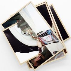 Brendan Fowler - Spring 2011 – Spring 2012 (Colin/Angelo/Dane, Andrea's Hand On Hat Head in Coronado Ter. House, Graham In Truck, Mirror Reflecting White Fla. Framing Photography, Conceptual Photography, Photography Projects, Different Points Of View, Moma, Polaroid Film, Drawings, Frame, Modern
