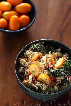 Sprouted quinoa salad (useful information on how to sprout quinoa), I might add wheatberries, barley or spelt for additional texture)