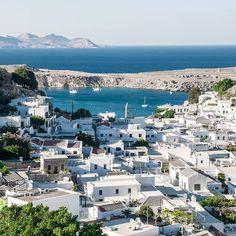 Lindos, Greece   Photo By: @mehmetaltie  ⠀⠀⠀⠀⠀⠀⠀⠀