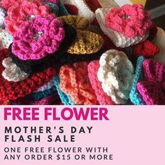 Happy Mother's Day!  —  HAPPY MOTHER'S DAY! Sending a little Mom Day ❤ out - TODAY ONLY! One FREE Spring Bling Cozy with your order of $15 or more! .  NO CODE NEEDED! . . Have coupon code from previous purchase or event? USE IT  . . Just let me know in the Note to Seller the colors for your flower and sleeve (choices in listing )! . . (This offer expires 5/24/17 12am Pacific Time) . . Enjoy your day!! Shop Link below