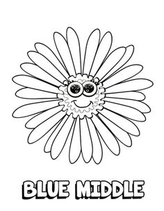 Coloring Sheet Rosie Girl Scouts Daisies Pinterest Daisy