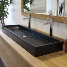 EN STOCK : Vasque à poser effet béton noir, Atlantica pas cher. Livraison rapide partout en France. Grand choix parmi 662 Vasque pour salle de bain