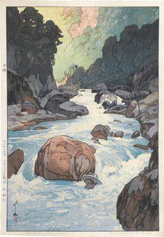 Kurobe River - by Yoshida Hiroshi