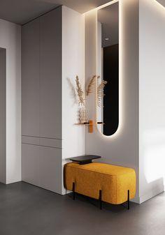 Room Design Bedroom, Home Room Design, Home Interior Design, Living Room Designs, House Design, Lobby Interior, Apartment Interior, Apartment Design, Hallway Designs