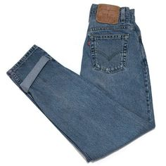 Vintage Levis 512 Mom Jeans 4 Slim Fit Tapered Leg 26W 28.5L Faded Women  | eBay
