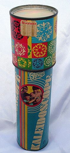 Kaleidoscope. We had them in the 1960s also.