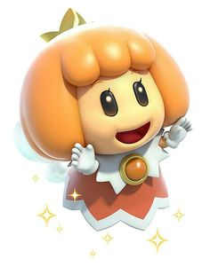 Orange Fairy - Characters  Art - Super Mario 3D World.jpg
