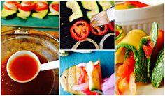 Calabazas aderezadas con salsa de soya #KikkomanSabor #LatinaBloggers #ad